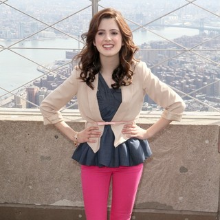 Laura Marano in The Empire State Building Hosts Disney Channel and Disney XD's Young Stars