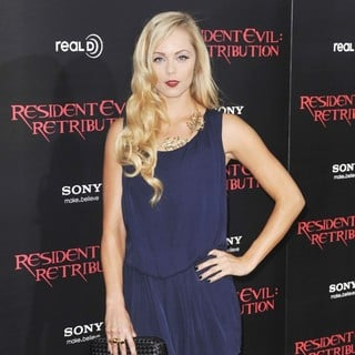 Laura Vandervoort in Resident Evil: Retribution Los Angeles Premiere - Arrivals