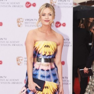 Laura Whitmore in 2017 The Virgin TV British Academy Television Awards - Arrivals