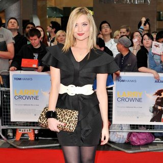 Laura Whitmore in Larry Crowne UK Premiere - Arrivals