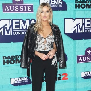 Laura Whitmore in The MTV EMA's 2017 - Arrivals