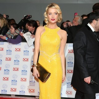 Laura Whitmore in National Television Awards 2013 - Arrivals