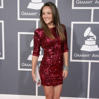 Lauren C. Mayhew in 55th Annual GRAMMY Awards - Arrivals
