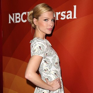 Lauren German in NBC Universal Press Tour