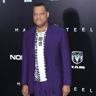 Laurence Fishburne Picture 41 - World Premiere of Man of ...