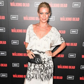 Laurie Holden in The Premiere of AMC's The Walking Dead 2nd Season