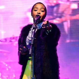 Lauryn Hill in 21st Annual 9 Mile Music Festival and Food Drive - Performances