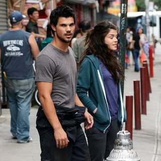 Filming of Action Movie Tracers on Location