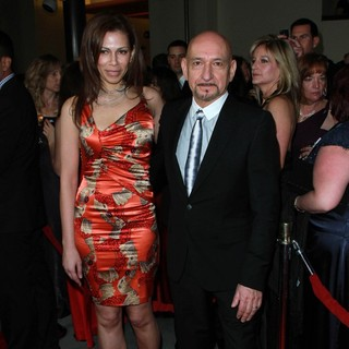 Daniela Lavender, Ben Kingsley in 64th Annual Directors Guild of America Awards - Arrivals