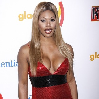 Laverne Cox in 23rd Annual GLAAD Media Awards