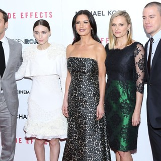 Jude Law, Rooney Mara, Catherine Zeta-Jones, Vinessa Shaw, Channing Tatum in New York Premiere of Side Effects