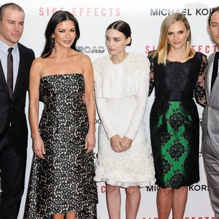Channing Tatum, Catherine Zeta-Jones, Rooney Mara, Vinessa Shaw, Jude Law in New York Premiere of Side Effects