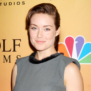 Megan Boone in 'Law & Order: Los Angeles' Premiere Party