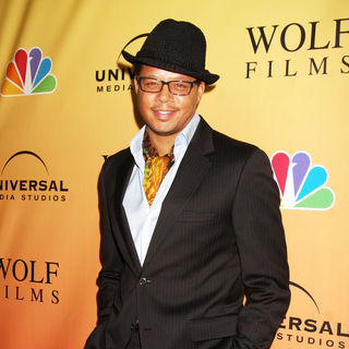 Terrence Howard in 'Law & Order: Los Angeles' Premiere Party
