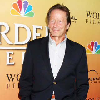 Peter Strauss in 'Law & Order: Los Angeles' Premiere Party