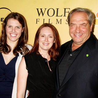 Olivia Wolf, Noelle Wolf, Dick Wolf in 'Law & Order: Los Angeles' Premiere Party