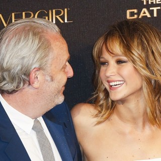 Francis Lawrence, Jennifer Lawrence in 66th Cannes Film Festival - The Hunger Games: Catching Fire - Party
