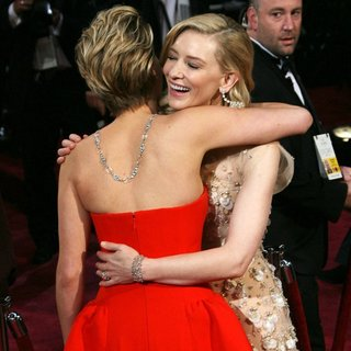 Jennifer Lawrence, Cate Blanchett in The 86th Annual Oscars - Red Carpet Arrivals