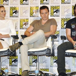 Jennifer Lawrence, Michael Fassbender, James McAvoy in Comic-Con International 2013 - X-Men: Days of Future Past - Press Conference
