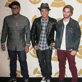 Philip Lawrence, Bruno Mars, Ari Levine in The GRAMMY Nominations Concert Live