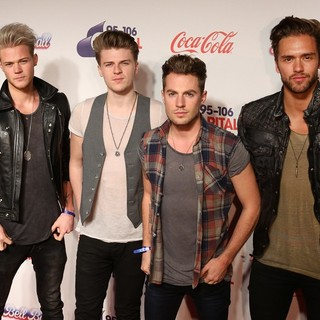 Lawson in The Capital FM Jingle Bell Ball 2013 - Day 2 - Arrivals
