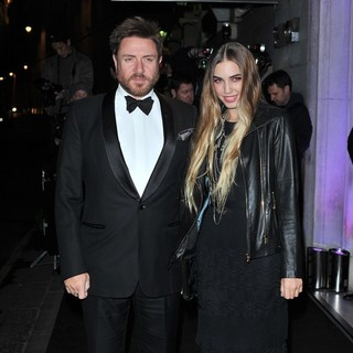 Simon Le Bon, Amber Le Bon in London Evening Standard Theatre Awards - Arrivals