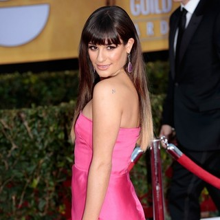 Lea Michele in 19th Annual Screen Actors Guild Awards - Arrivals