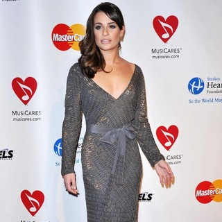 Lea Michele in 2011 MusiCares Person of The Year Tribute to Barbra Streisand