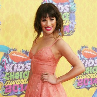 Lea Michele in Nickelodeon's 27th Annual Kids' Choice Awards - Arrivals