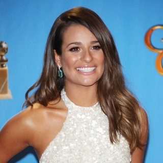 Lea Michele in 70th Annual Golden Globe Awards - Press Room - lea-michele-70th-annual-golden-globe-awards-press-room-02