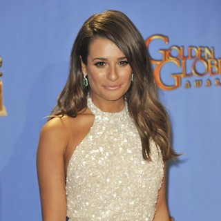 Lea Michele in 70th Annual Golden Globe Awards - Press Room - lea-michele-70th-annual-golden-globe-awards-press-room-04