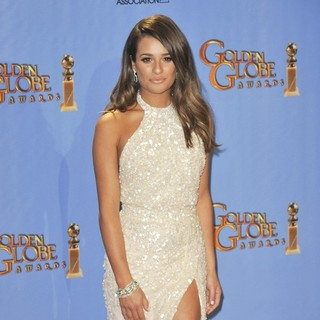 Lea Michele in 70th Annual Golden Globe Awards - Press Room - lea-michele-70th-annual-golden-globe-awards-press-room-05