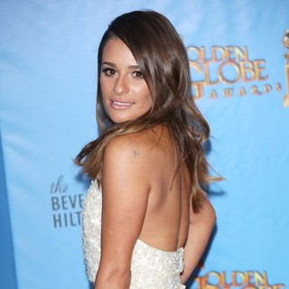 Lea Michele in 70th Annual Golden Globe Awards - Press Room - lea-michele-70th-annual-golden-globe-awards-press-room-06