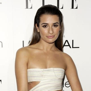 Lea Michele in ELLE 20th Annual Women in Hollywood Celebration
