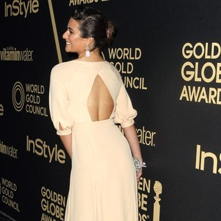 Lea Michele in Miss Golden Globe 2013 Party Hosted by The HFPA and InStyle
