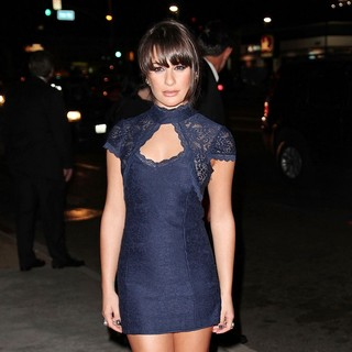 Lea Michele in Premiere of FX's American Horror Story