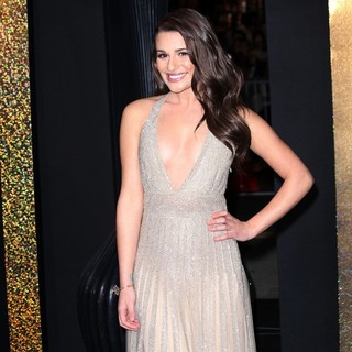 Lea Michele in Los Angeles Premiere of New Year's Eve