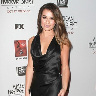 Lea Michele in Premiere Screening of FX's American Horror Story: Asylum