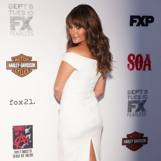 Lea Michele - FX's Sons of Anarchy Premiere Season 7 - Arrivals