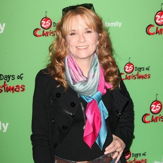 Lea Thompson in ABC Family's 25 Days of Christmas Winter Wonderland Event