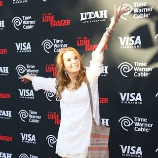Lea Thompson in The World Premiere of Disney-Jerry Bruckheimer Films' The Lone Ranger - lea-thompson-premiere-the-lone-ranger-05