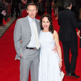 Mark Leadbetter, Samantha Spiro in Me Before You U.K. Premiere - Arrivals