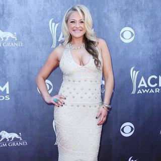 Leah Turner in 49th Annual Academy of Country Music Awards - Arrivals