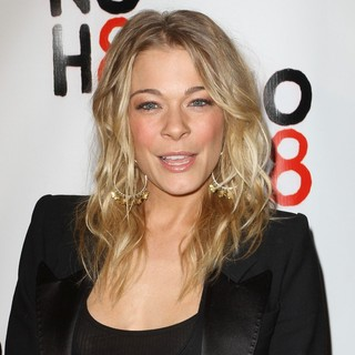 LeAnn Rimes in NOH8's 3 Year Anniversary Celebration