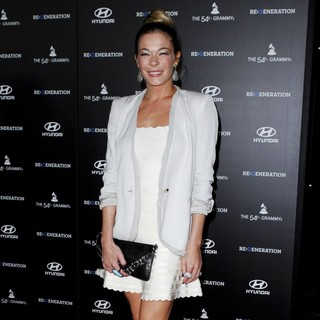LeAnn Rimes in The Premiere of Re: Generation Music Project - Arrivals