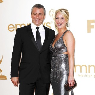 Andrea Anders in The 63rd Primetime Emmy Awards - Arrivals - leblanc-anders-63rd-primetime-emmy-awards-03