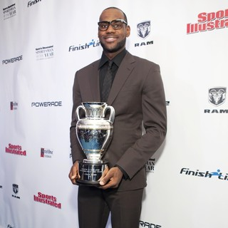 LeBron James in 2012 Sports Illustrated Sportsman of The Year Award Presentation