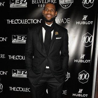 LeBron James in Dwyane Wade's 30th Birthday Celebration