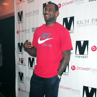 LeBron James in LeBron James Hosts Trilogy Party