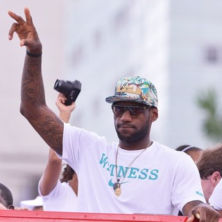 Miami Heat Celebrate Their NBA Championship Winning Season with A Victory Parade